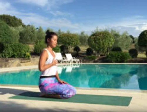 15mins hatha yoga para el core