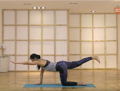 30 mins de clase de yoga dinamico