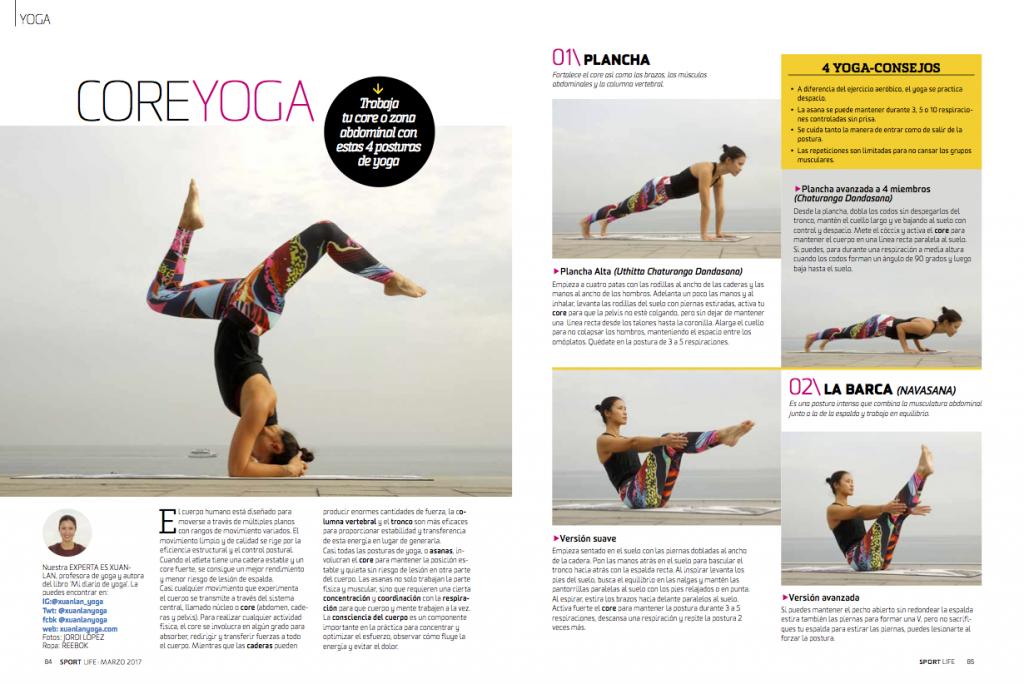 Prensa escrita y revistas - Xuan Lan Yoga