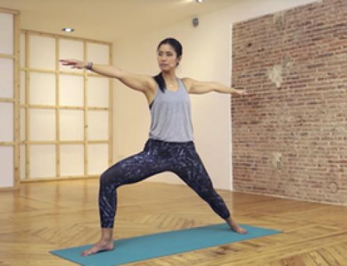 30 mins de vinyasa yoga con Objetivo Bienestar