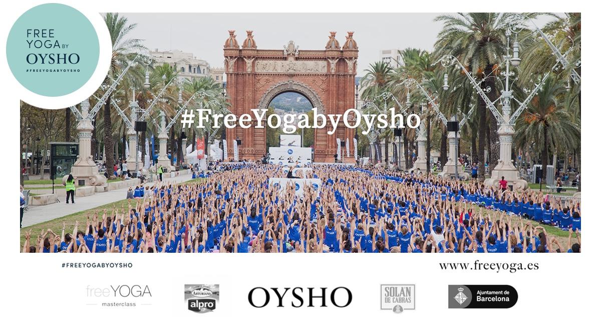 6º Free Yoga by Oysho Barcelona - Xuan Lan Yoga f90cb6efc700