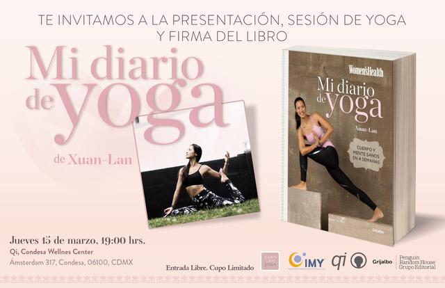 Mi Diario de yoga Xuan Lan 15 Marzo
