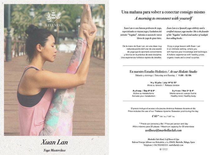 Xuan Lan Yoga Marbella Club