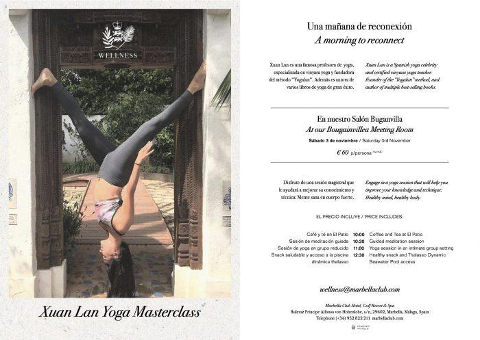 Xuan Lan Yoga Marbella Club Spa