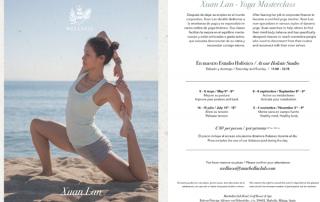 Masterclass Yoga Xuan Lan Marbella Club