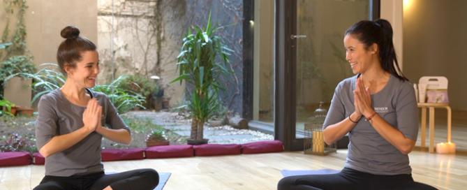 Yoga con Skeyndor y Xuan Lan