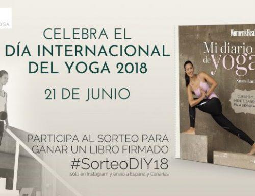 SORTEO DÍA INTERNACIONAL DE YOGA 2018 #SorteoDIY18