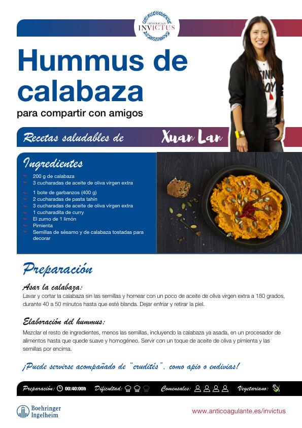 Hummus-calabaza