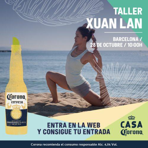 Xuan Lan Yoga Masterclass Casa Corona