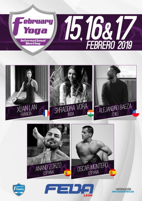 February Fitness Yoga León Xuan Lan