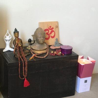 Vela Rituals altar