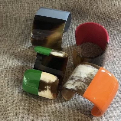 Pulsera lacada de Vietnam Conchita Plasencia