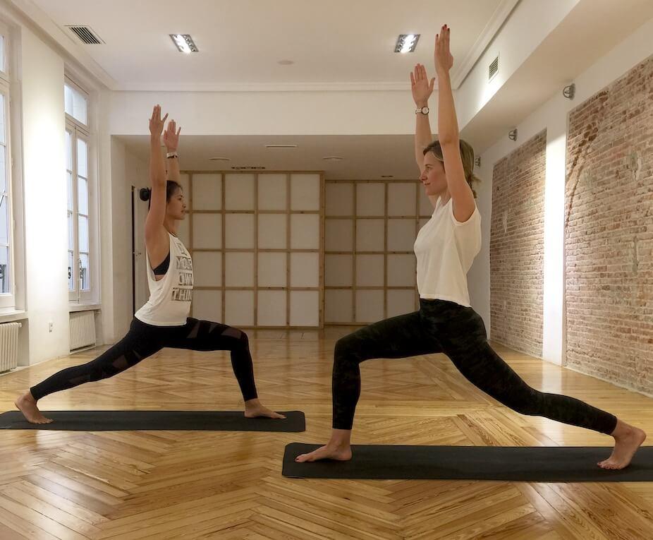 Maria León style y Xuan Lan Yoga