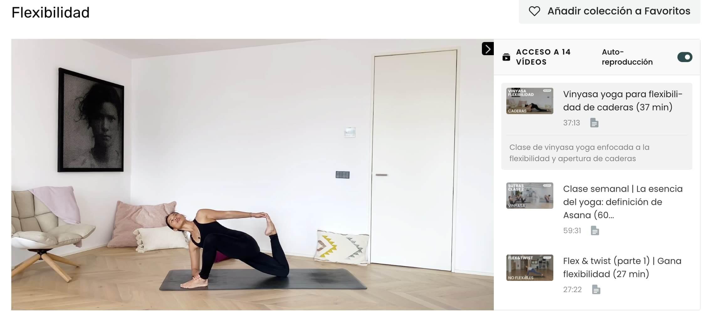 clases de yoga para la ansiedad la flexibilidad