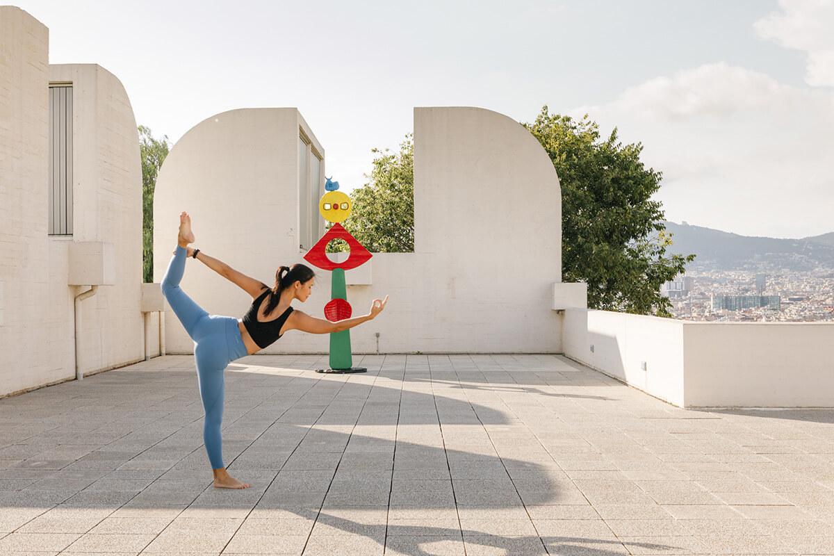 Fundacio joan miro yoga