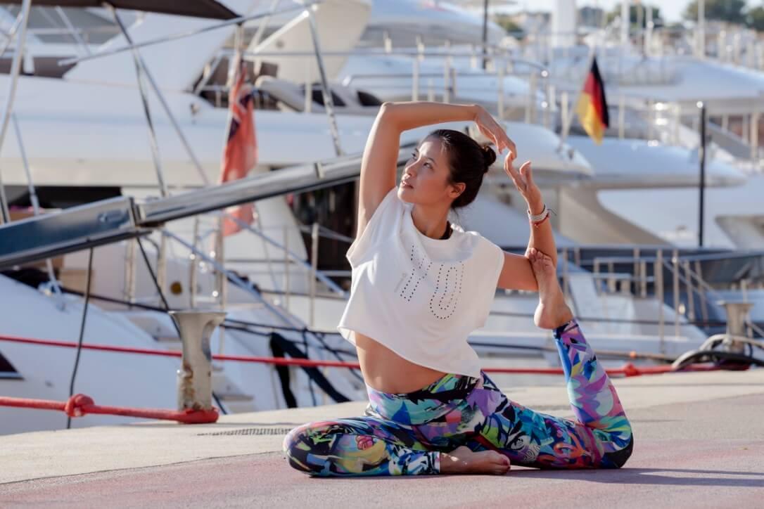 guía de práctica de yoga