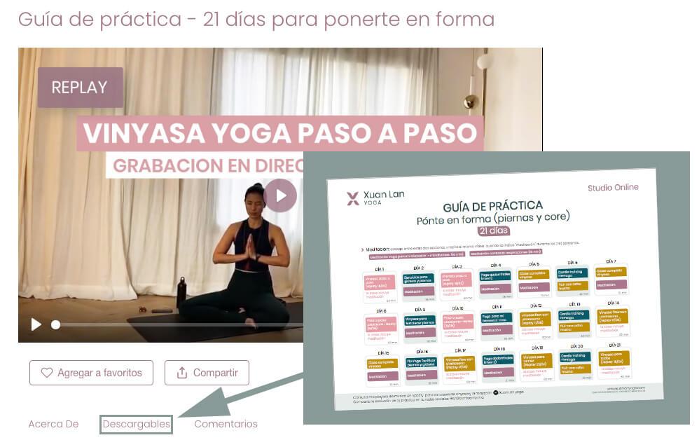 rutina de yoga de xuan lan