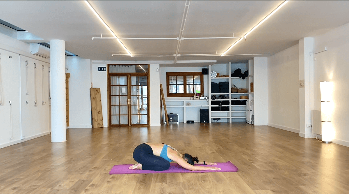 clase enraizarse yoga