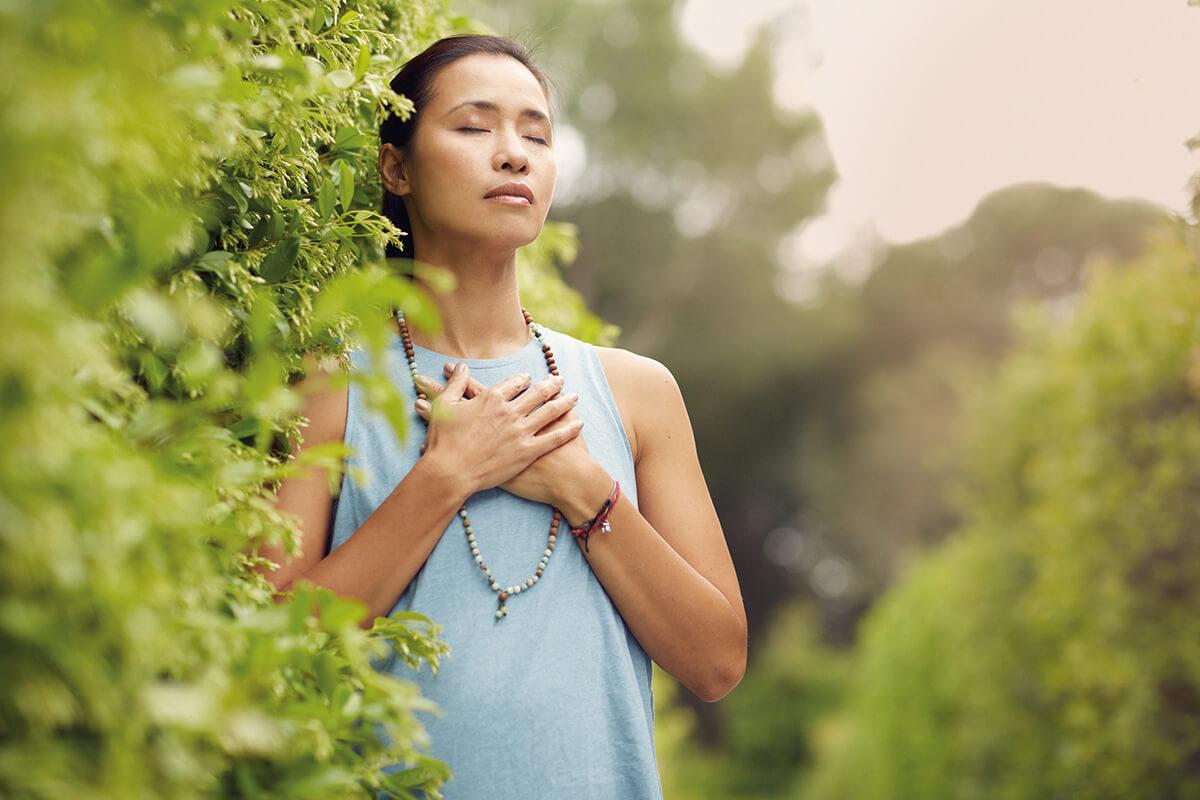 momento presente en yoga