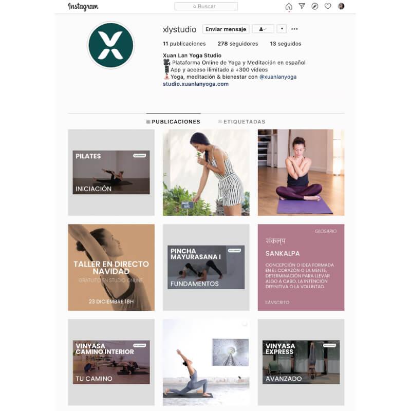 instagram studio online