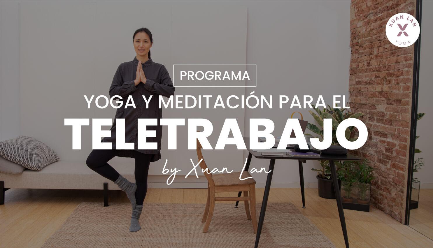 yoga para teletrabajo