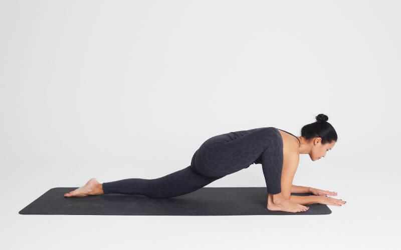 postura del lagarto yoga