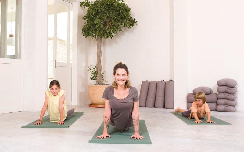 yoga para niños a que edad