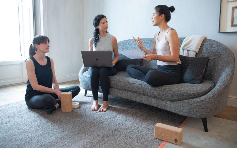 colaboradoras programa espalda sana yoga