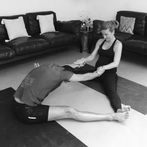Yoga para realizar en pareja