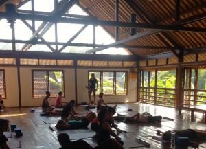 Radiently Alive yoga Bali