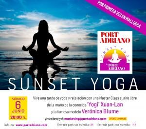 banner blog sunset yoga