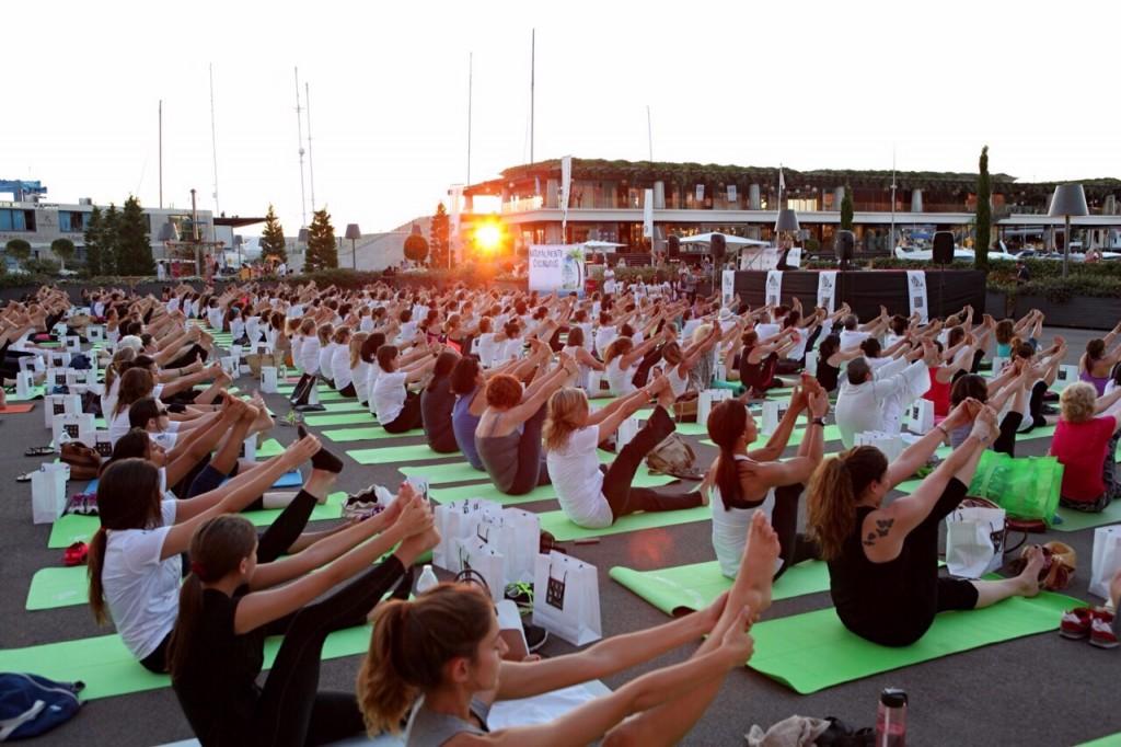 Sunset Yoga Port Adriano Mallorca