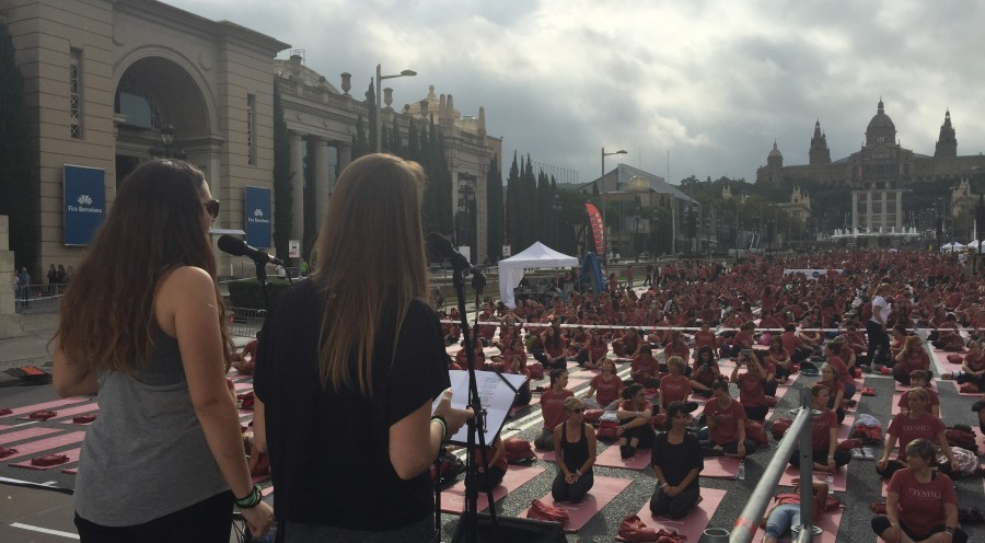 Free Yoga Oysho Barcelona