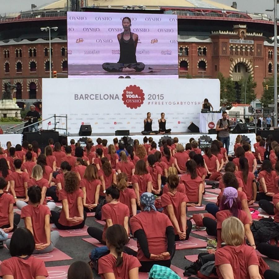 Foto 1 Free Yoga by Oysho, Barcelona 2015