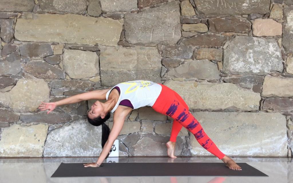 yoga online con Xuan-lan