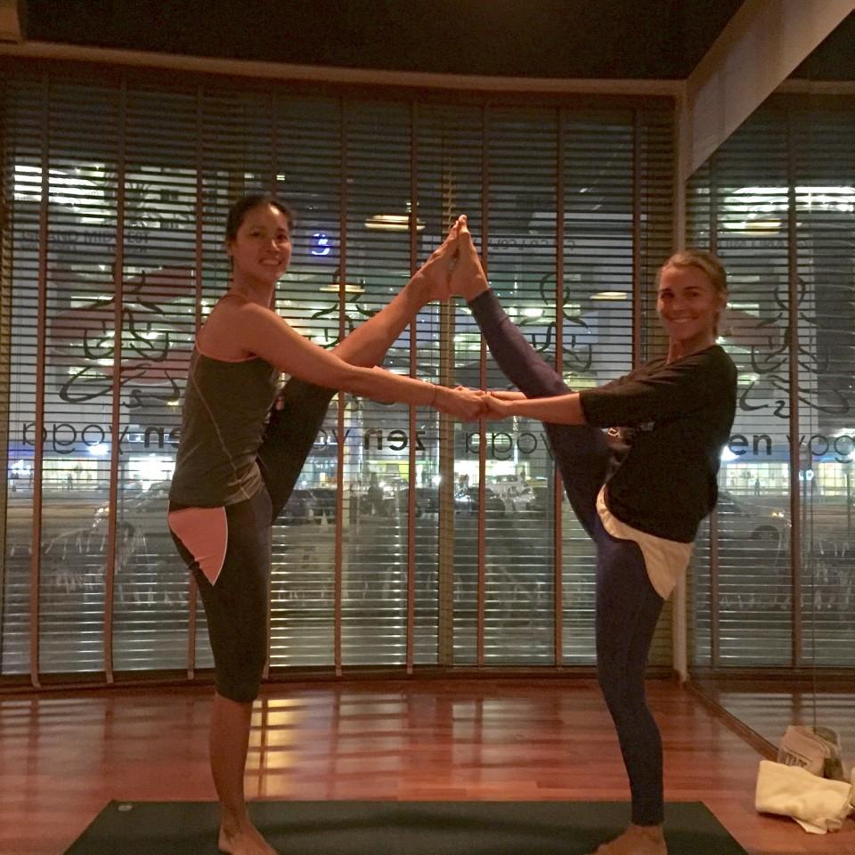 Clase en Zen Yoga Dubai