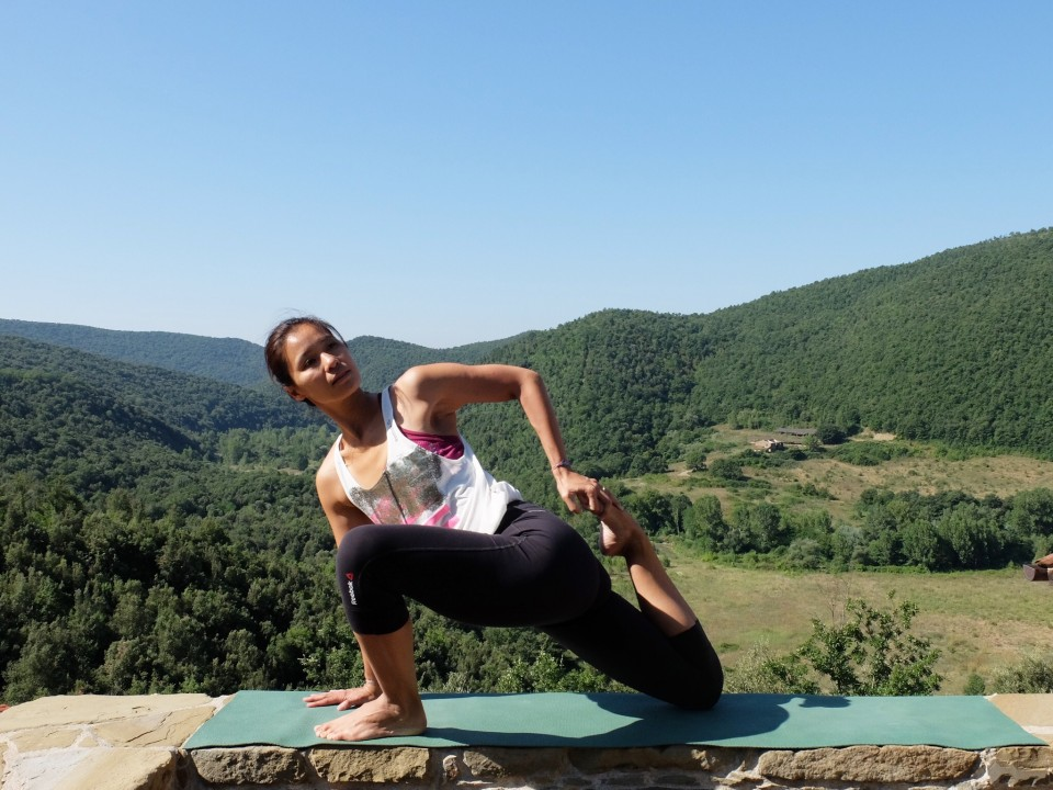 leggins de yoga