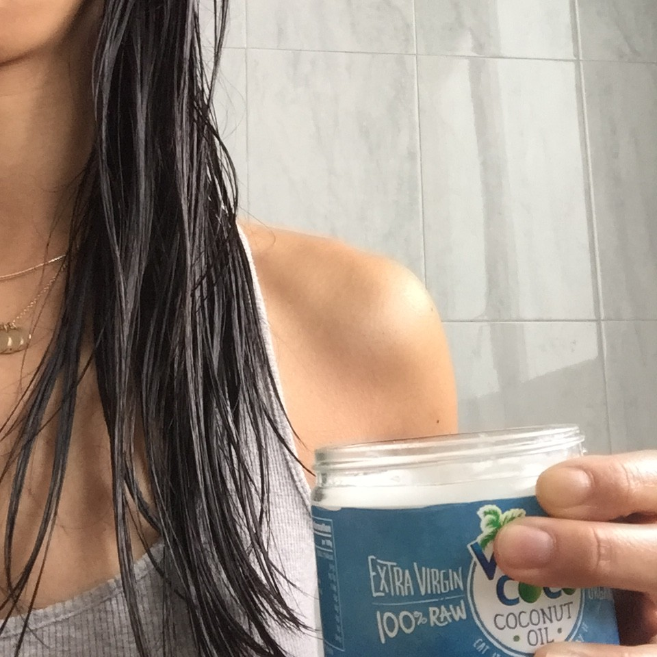 aceite de coco pelo